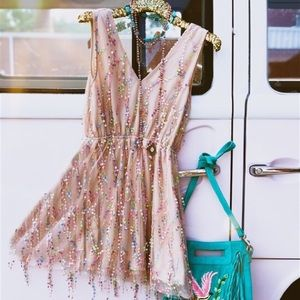 Woman's Sequins Dress